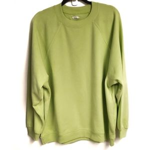 American Eagle Jegging Fit Light Green Crew Neck